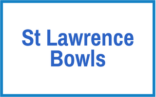St Lawrence bowls